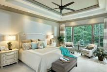 Set the mood with retreat-like lighting