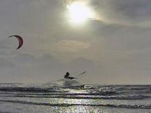 Kiteboarding is fast-paced, exhilarating sport whose popularity is growing along the North Carolina coast.