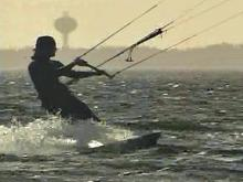 Kiteboarding's 'A Freedom Thing' for Middle Aged