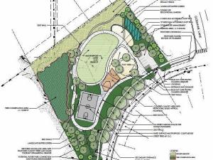 The plan for Sierra/Lineberry Drive Park,