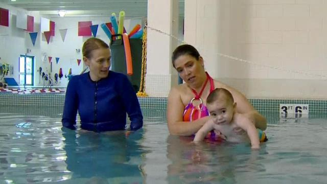 Teaching kids to swim at young age can help prevent drownings.
