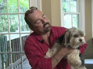 Tony Kirkegaard said private information he provided to Raleighwood Pet Sitting showed up in emails to a Raleighwood employment prospect.