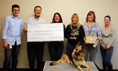 Southeast German Shepherd Rescue was awarded $5,000 Tuesday afternoon after taking home the crown in the 2015 Animaltarian of the Year contest.