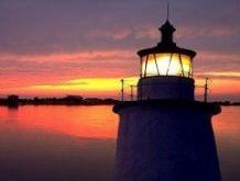 Lighthouse on Coast