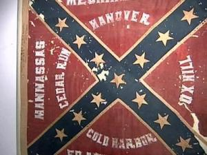 Tattered Confederate flag has checkered past