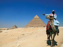 One of the Seven Wonders of the World, the pyramids are the oldest tourist attraction in the world, already 2,500 years old when Christ was born.