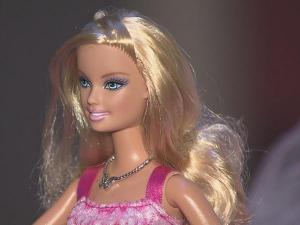 """The """"Barbie -- Simply Fabulous at 50"""" exhibit is on display at the North Carolina Museum of History in Raleigh for the next seven months."""