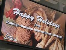 RDU changes could impact holiday travel