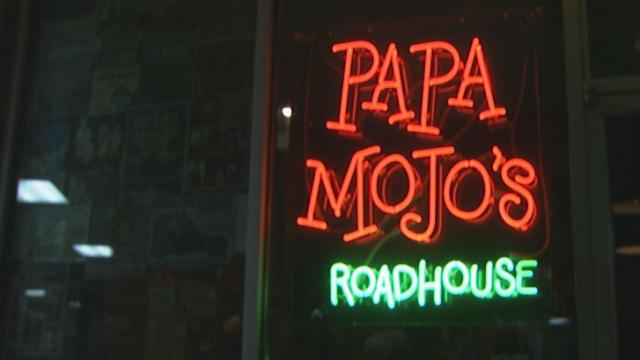 Mel Melton opened Papa Mojo's in Durham to celebrate Louisiana style food and culture. He was first a musician, but later became a chef, so the roadhouse allows Melton to pursue both his passions in New Orleans fashion.