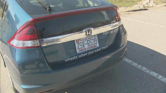 Zipcar brings car-sharing to Raleigh