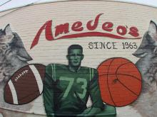Amedeo's, an Italian place as famous for its food as its North Carolina State University sports memorabilia, is celebrating its 50th anniversary.