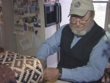 Janet and Scott Daughtry live near Selma and make all kinds of baskets. They've traveled the globe and taught their skills to poor people in developing countries.