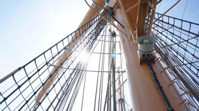 On board the Eagle