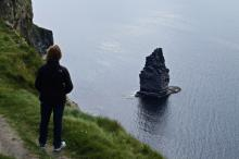 The Cliffs of Moher are a popular spot for watching puffins and other birds.