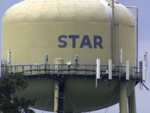 Star is the geographic center of the Tar Heel state.
