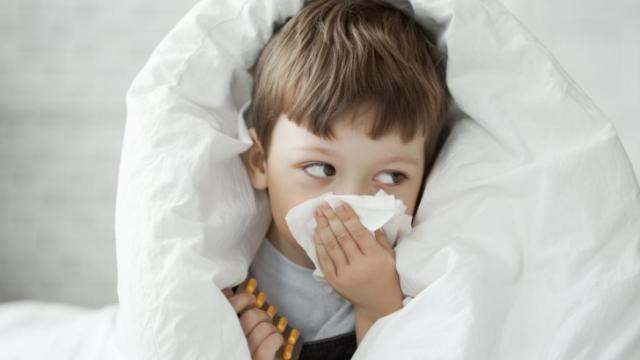 If anyone in your home has the flu, keep contact to a minimum and consistently wash your hands with soap and water or rinse with alcohol-based hand sanitizer.