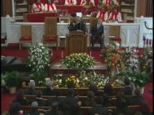 WEB ONLY: J.D. Lewis' Funeral Service