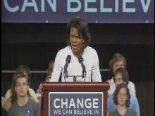 Michelle Obama Speaks at N.C. State University