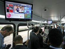 Mobile DTV launched in CAT bus