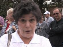 Tea party protester makes her case