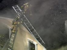 Sky 5 video: Fire in Raleigh