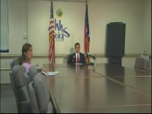 Officials discuss H1N1 death