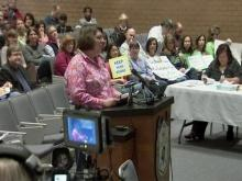 Web only: Wake County school board holds public meeting