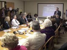 Web only: Wake school board, commissioners talk budget