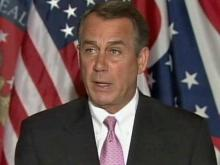 Boehner: Issue is spending