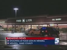 Breaking News: Three shot at Wendell Food Lion