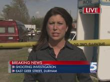 Breaking news: Shooting in Durham