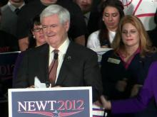 Gingrich running out of time, states in GOP race