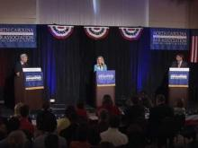 Full debate: McCrory, Dalton in Wilmington