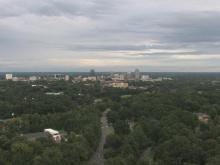 Watch the weather from WRAL's Tower Cam