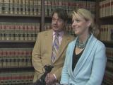 Debra Goldman holds news conference
