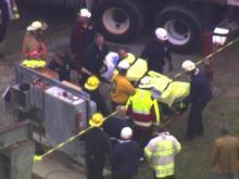 Sky 5: Fuquay-Varina underground rescue