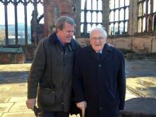 WRAL News anchor David Crabtree was in Coventry, England Friday, Dec. 7, 2012 for a ceremony that remembers deadly German bombing that happened over a 14-day period in 1940.