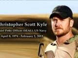 Funeral services for ex-SEAL sniper
