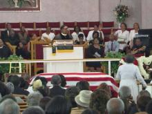 Funeral service for Moses Mathis