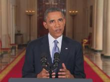Web only: Obama makes case for intervention in Syria