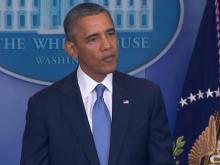 Obama: Government shutdown irresponsible