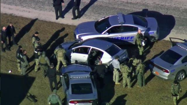 Sky5 catches police chase, crash