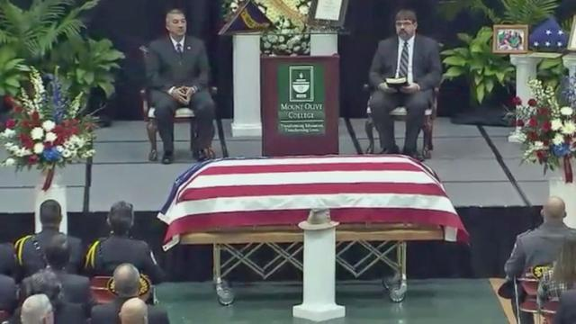 Funeral held for Wayne County Sheriff Carey Winders