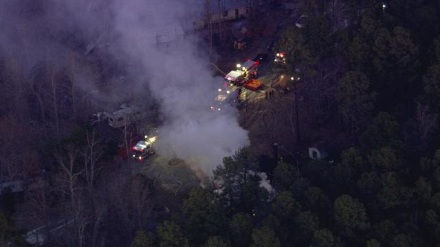 Fire destroys Carrboro home