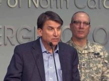 McCrory: Residents need to prepare for storm
