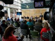 DENR news conference on coal ash ponds