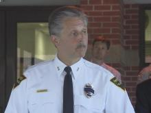 Fayetteville police news conference on  Kelli Bordeaux