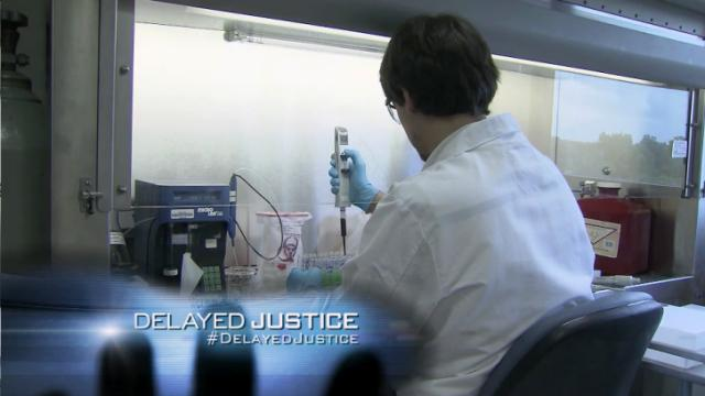 Delayed Justice State Crime Lab