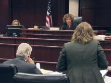 Judge hears arguments on contemporary Oakwood home