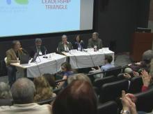 Group discusses 'fracking' gas drilling process
